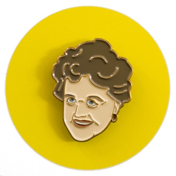 Angela Lansbury Enamel Pin